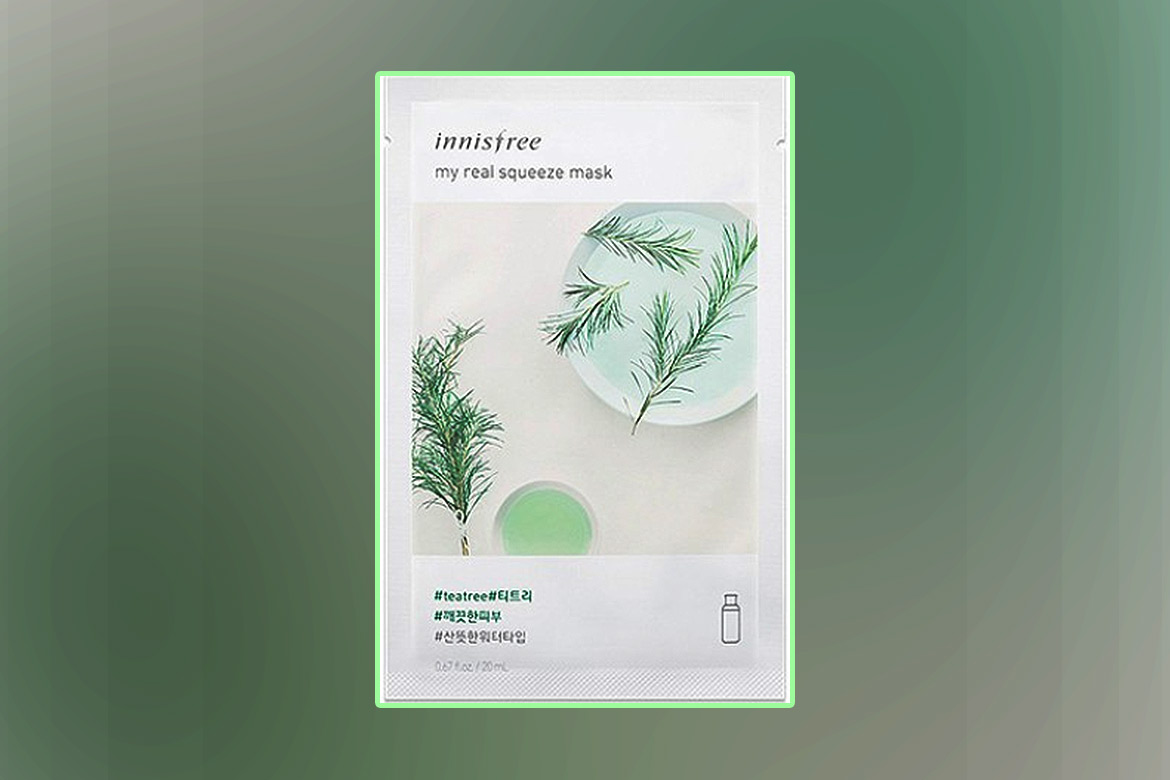 Innisfree-It's-Real-Squeeze-Mask---Tea-Tree