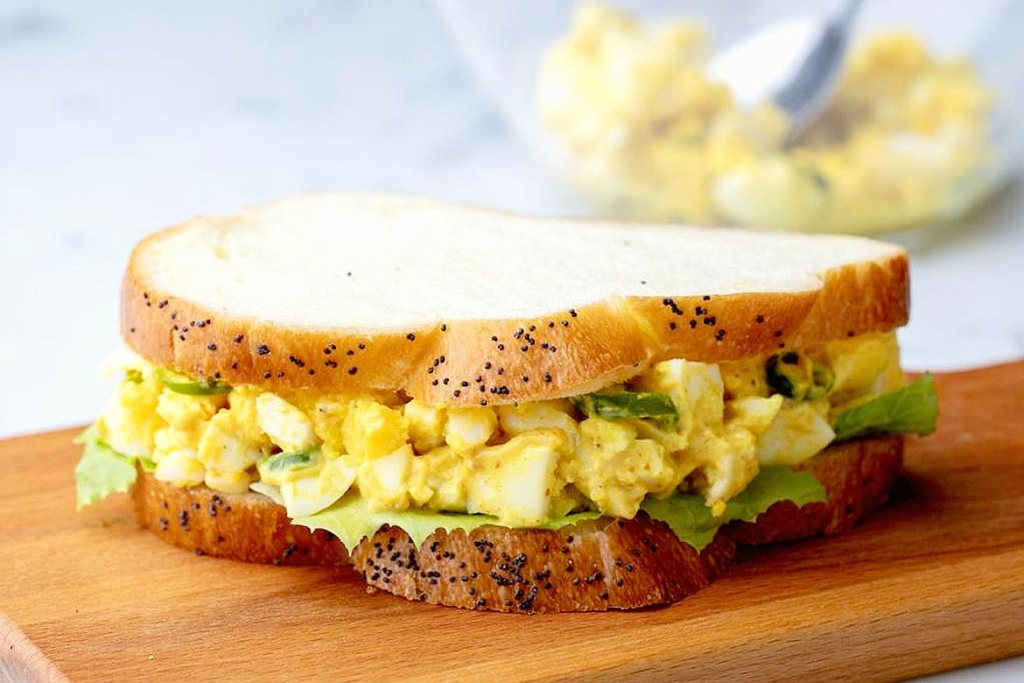 Egg Sandwich-Solid Breakfast For Weight Reduction