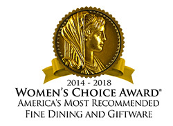 Women's Choice Award - Lenox Most Recommended Fine Dining & Giftware