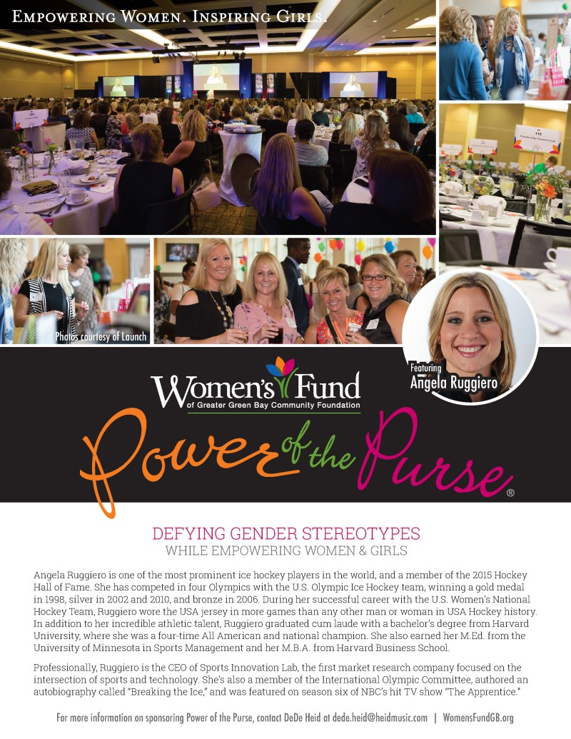 Power of the Purse 2018 feature speaker Angela Ruggiero