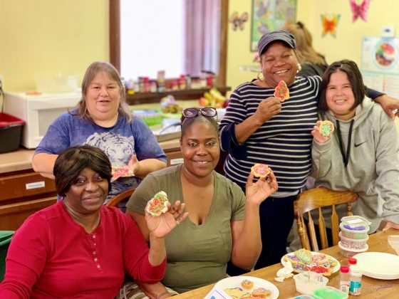 Wellspring cookie decorating