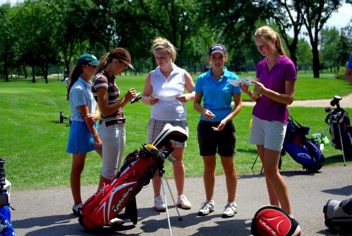golf camps girls