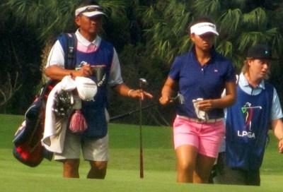 LPGA rookie Megan Khang
