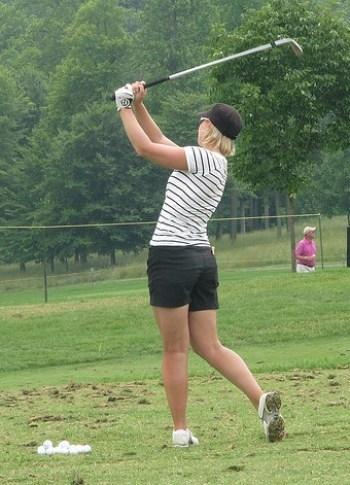 Practice golf effectively Nicole Damarjian