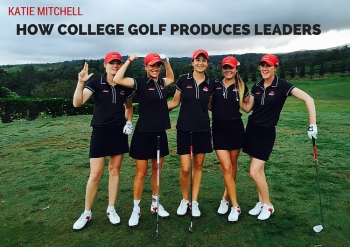 How College Golf Produces Leaders