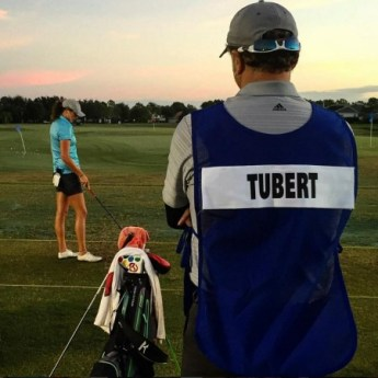 emily tubert symetra tour pro and caddy