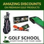 Go to www.golfschool.com for discounted training aids