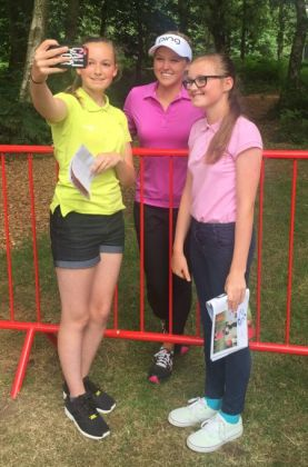 Hope Neild Brooke Hendson Eve Neild Girls Golf