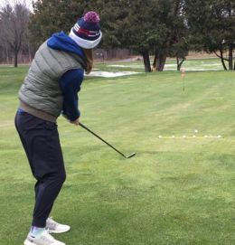 How to Chip in Golf - Ratio Method - Grace Kelbel - Womens Golf