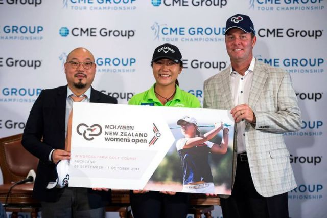 New Zealand Womens Open LPGA tour 2017