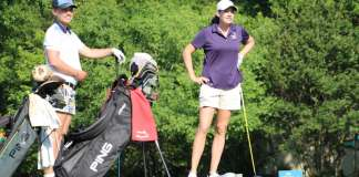 Katherine Perry and Allie White Womens Golf PKBGT