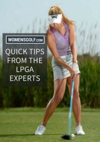 Gift with Subscription - Quick Tips from the LPGA Experts