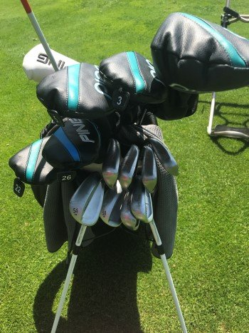 Lindsey Weaver whats in her golf bag