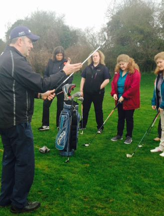 Ladies Taster Golf Session - womens golf newsletter