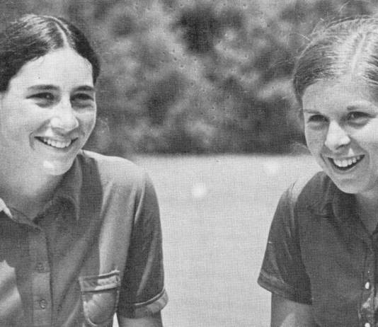 Hollis Stacy and Amy Alcott World Golf Hall of Fame Women's Golf article