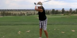 Cindy Miller Practice Drill for Speed and Distance Womens Golf