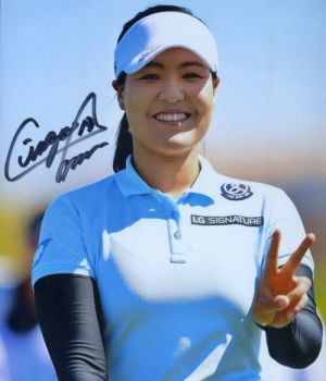 In Gee Chun signed photo from World Golf Hall of Fame Museum - Womens Golf