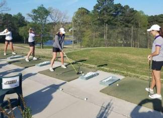 The JMU College Womens Golf Team Brandi Jackson