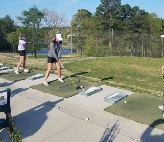 The JMU College Womens Golf Team Brandi Jackson
