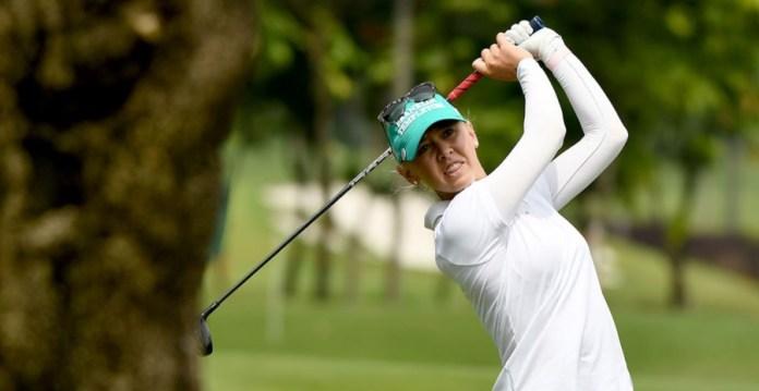 Jessica Korda playing in the 2016 Sime Darby LPGA Malaysia.