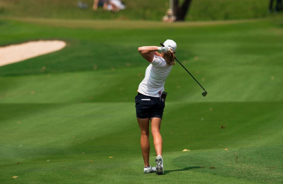 Stacy Lewis Finish the Swing Left of the Target - Deb Vangellow Womens Golf