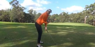 Tennis Posture in Golf Anne Rollo Womens Golf