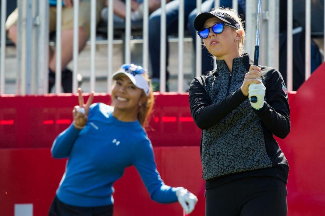 Beauty and womens professional golf lpga