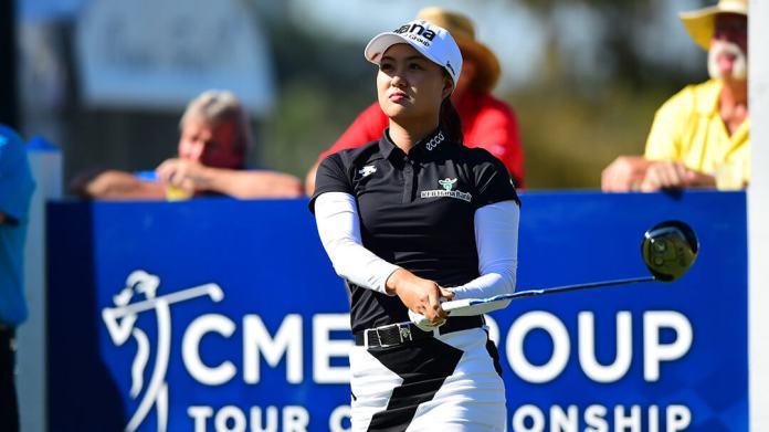 Australian, Minjee Lee at the 2016 CME Group Tour Championship