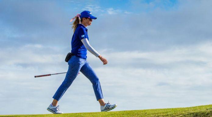 LPGA player, Paula Creamer at the 2017 British Women's Open