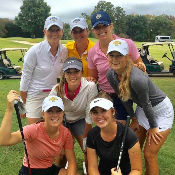 University of North Carolina at Greensboro (UNCG) Women's Golf team.