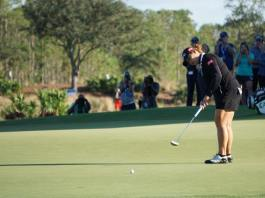 Ariya Jutanugarn winning putt CME Group LPGA Tour Championship womensgolf.com