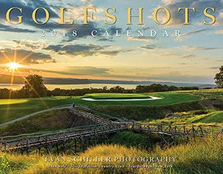 Evan Schiller's 2018 Golf Shots Calendar