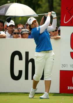 A balanced finish from former world #1 player, Inbee Park