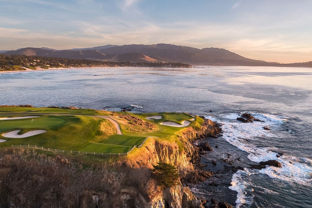 Pebble Beach Golf Links - 7th hole - Evan Schiller Photography - WomensGolf.com