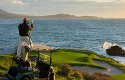 Shooting Pebble Beach Golf Links