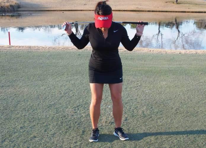 Cathy Kim - flat shoulders - Pitch it like you putt it - Women's Golf