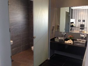 Hemorrhoids bathroom