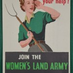 Join The Women's Land Army Food Comes First