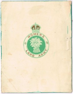 Women's Land Army Christmas Card