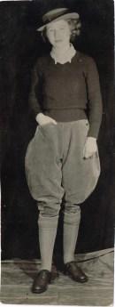 Margaret Elizabeth Sutherland (nee Coldwell) at Culford Camp, Suffolk