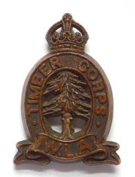 World War Two Women's Timber Corps Badge