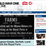 Video: Sandringham Estate, Norfolk: Land Girls Work the Royal Farm (WW1)