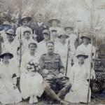 WW1 Photo: Land Girls at Maggie Kent's Wedding