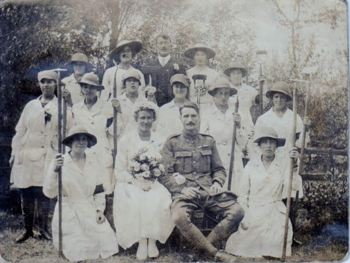 Lillian May Rance in the World War One Women's Land Army