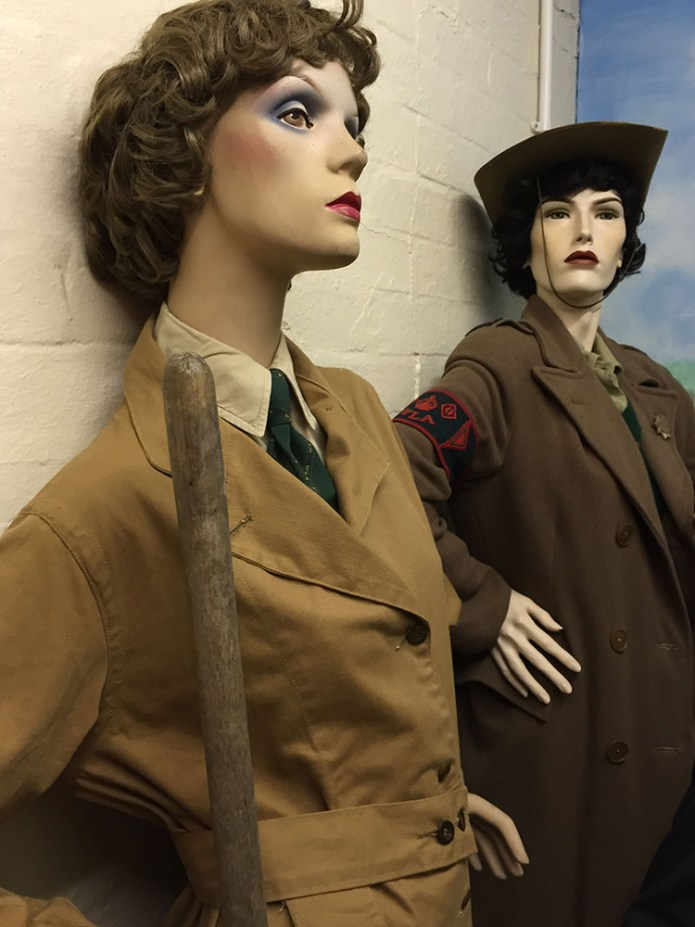 Women's Land Army Exhibition at 306 Bombardment Group Museum
