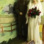 Valentine's Day Special: WW2 Land Girl Wedding Dress