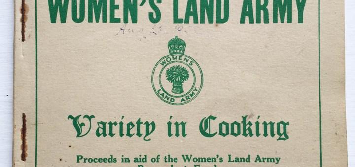 Women's Land Army Wales Receipe Book