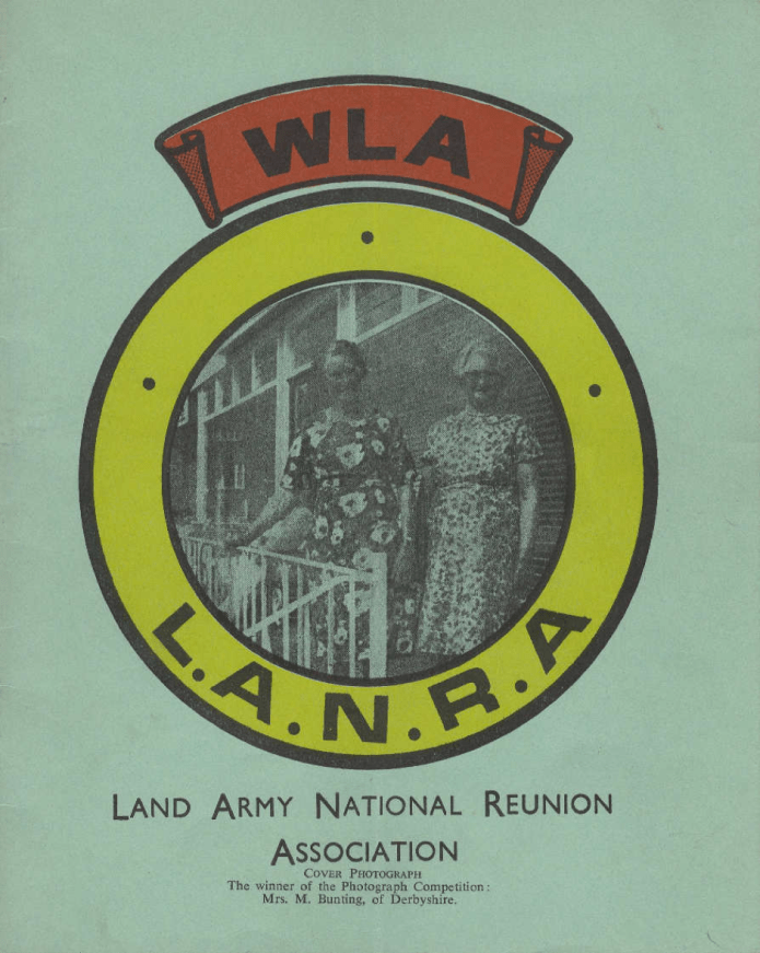 Land Army National Reunion Association Magazine 1970