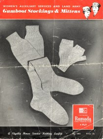 Gumboot Stockings and Mittens Page 1
