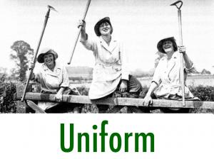 First World War Women's Land Army Uniform